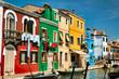Quadro Burano's colors