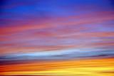 Cielo tramonto poster