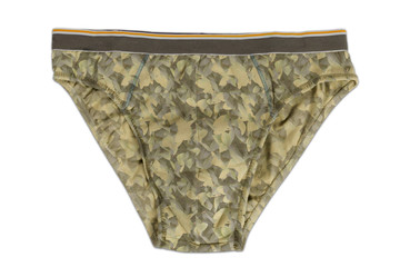 Brown Man's Underwear