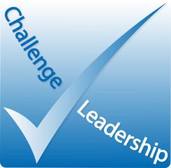 "Logo ""Challenge Leadership"""