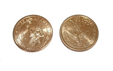 One Dollar Coin from both sides