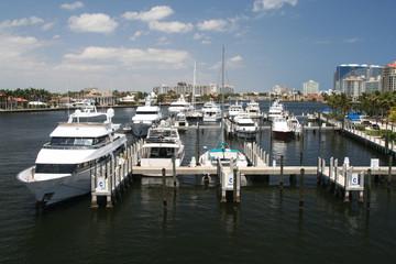 Ft. Lauderdale Marina on the Intracoastal
