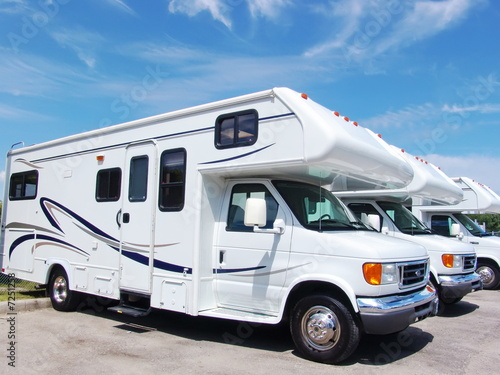 Foto op Canvas Canada New recreational vehicles