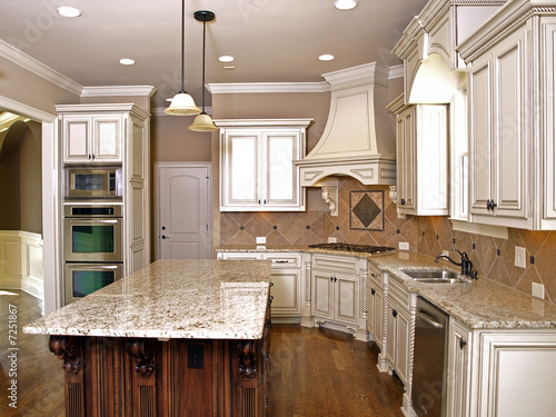Luxury Kitchen with Granite topped Island  2