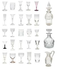 Antique Glass Montage
