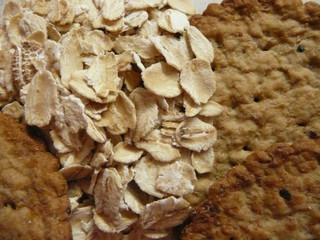 Oats close up