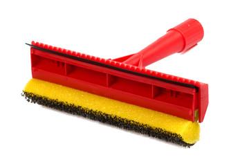 Mop with scraper