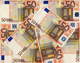 Euro banknote - Euros bank notes