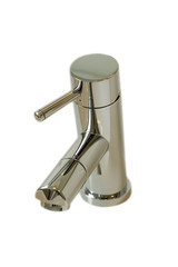 Isolated chrome tap