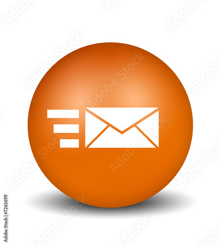 Send Mail - orange © lookata #7263699 - See portfolio