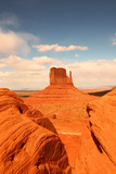 Vertical View of Monument Valley