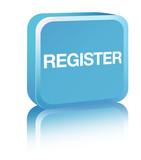 Register - blue poster