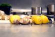Напиток из имбиря и лимона - лучшее средство против простуды.