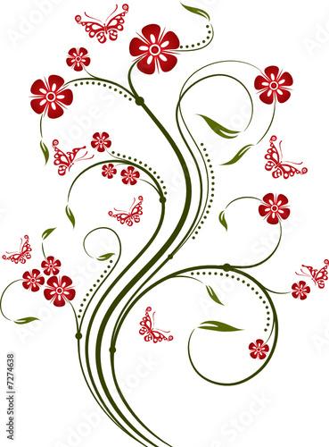 Decorative element for design, vector illustration  © Tolchik