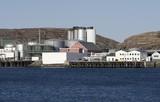 Norwegian harbour. poster