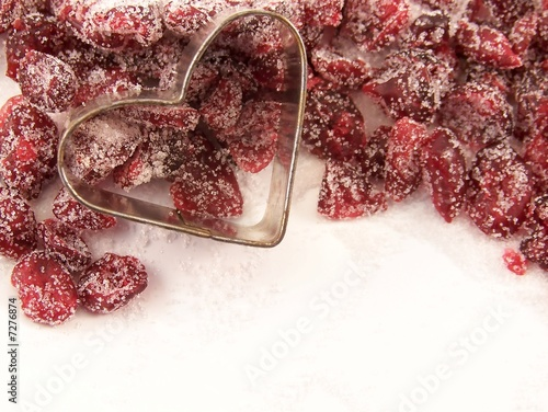 Dried Cranberries and Sugar