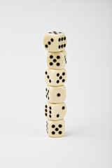 Dice towering