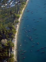 Vista aerea de Zanzibar