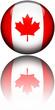 Drapeau Canada 3D Reflet
