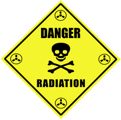 """Danger  - Radiation"""