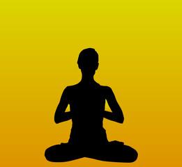 Persona practicando yoga