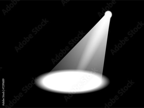 Canvas Licht, schaduw scheinwerfer