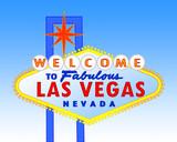 Las Vegas sign at daytime poster