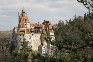 Dracula's castle: horizontal