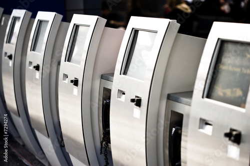 Electronic ticket dispensers