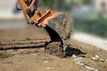 braccio escavatore