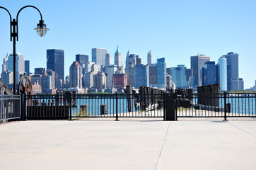 Manhattan view from Jersey side