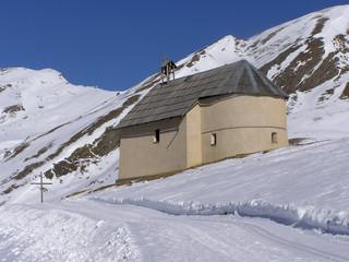 1569 - Chapelle de Clausis, massif du Queyras