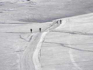 1570 - Ski de randonnée près de St Véran