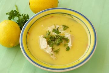 Aglolemono soup