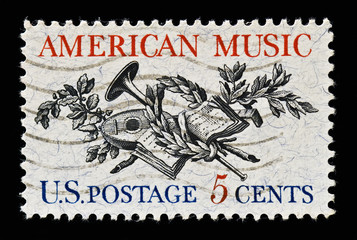 American Music Stamp