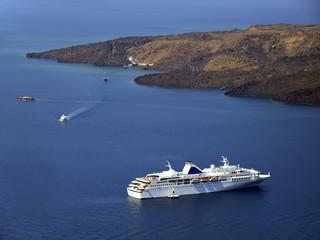 Cruise on Santorini