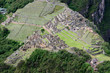 Machu Picchu seen from Huayna Picchu Mountain