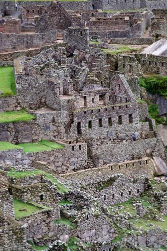 The Machu Picchu ruin