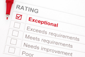 Exceptional Rating