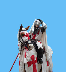 White Medieval Knight