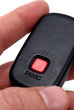 Key-chain panic button for car