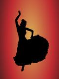 Fototapety Flamenco Dancer 1