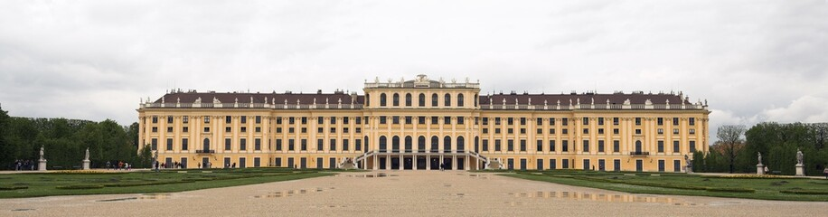 The Palace of Schonbrunn in Vienna