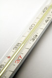 clinical thermometer poster