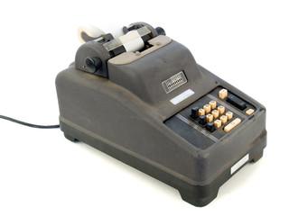 Obsolete adding machine