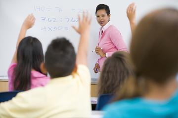 School Maths Class