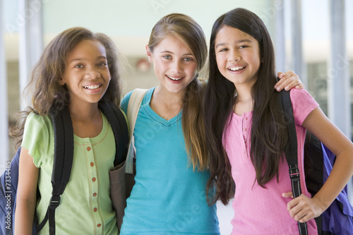 Group of elementary school friends