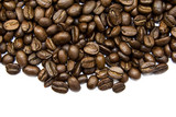 Fototapety Coffe beans isolated on white