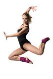 Fototapety girl jumping