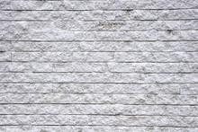 Rugueux blanc mur de bloc